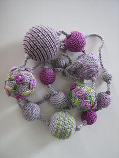 Crochet collier  Monami par Suzann61 sur Etsy, $45.00