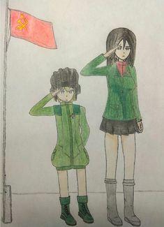 Girls und panzer Nonna and Katyusha