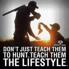 Grew up Hunting and Fishing with my Grandpa. Simple lessons in life taught next to a stream or in the woods