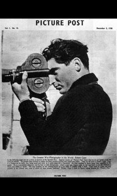 Robert capa self portrait