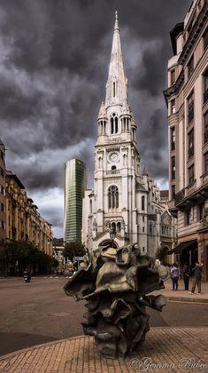 Iglesia de San José en Bilbao - Basque Country - Spain