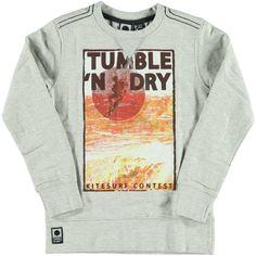 Sweater Grey Melange | Tumble n Dry | Daan en Lotje https://daanenlotje.com/kids/jongens/tumble-and-dry-sweater-grey-melange-001641
