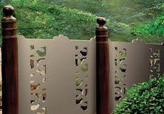 Tipi di recinzione decorativi per il vostro giardino