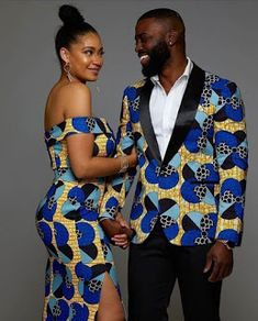 Latest Embellished African Fashion Fitted Dresses, Skirts and Jumpsuits for Weddings at Diyanu Couples African Outfits, African Tops, African Clothing For Men, African Shirts, African Dresses For Women, Couple Outfits, African Attire, African Wear, African Style