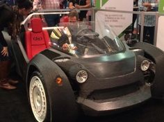 The future of auto manufacturing was in the building we were a few months ago! At SEMA 2014, Local Motors 3D printed a car during the week-long trade show. It was amazing to be in the same vicinity as such a huge technological innovation. Attending the show was a great idea.