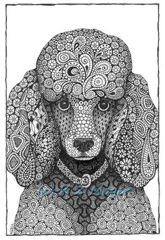 Large Breed Dog Portraits more large by MelangeSeriousFunArt