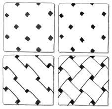 super easy zentangle patterns for kids - Google Search