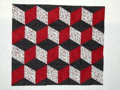 3 – D Blocks using the Y-Not technique | Beyond Sock Monkeys ~ My Quilting Adventures