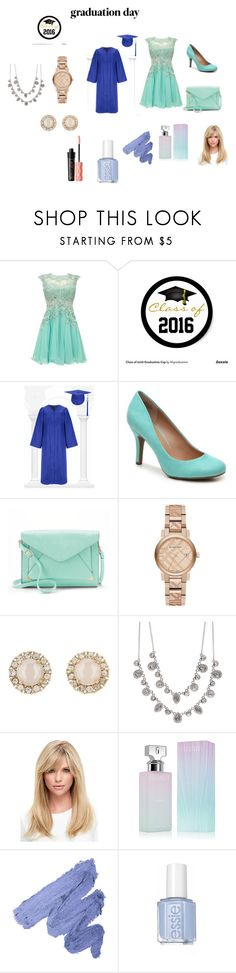 """""""GRADUATION DAY !!!!!"""" by cocogirlxoxo on Polyvore featuring Apt. 9, Burberry, Kate Spade, Givenchy, Calvin Klein, Benefit and graduationdaydress"""