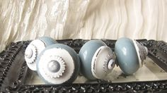 Shabby Chic/ Rustic/ Cupboard Knobs/ Drawer by happybdaytome, $20.00