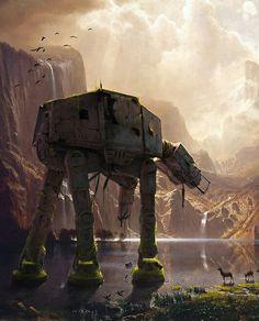 N/A Sierra Nevada, Star Wars Art, Lego Star Wars, Albert Bierstadt Paintings, Art Science Fiction, Wallpapers En Hd, Hd Backgrounds, Space Opera, Google Art Project