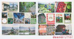 Every Little Bit: Wander   Deena Rutter Creative Team Layout #projectlife #deenarutter