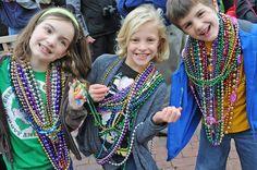 Mardi Gras Celebration | The Village of Baytowne Wharf | Sandestin Golf & Beach Resort | Miramar Beach, Florida