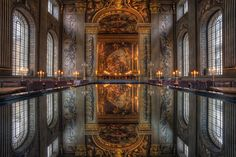 The Painted Hall/Greenwich, London, England,