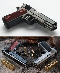 Double barrel 1911 ----- Seems a bit like overkill and a good waste of ammo to me, but to each their own...