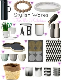Via The Design Chaser | Kitchenware | Ferm Living | Design Letters | Menu | Iittala
