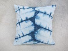 Beautiful shibori cushions made by Graham Keegan who has an Etsy shop and an inspiring blog