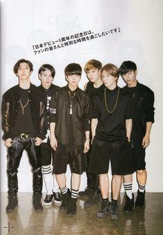 B.A.P for 'Hallyu Pier' Magazine