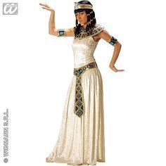 Disfraz de Emperatriz Egipcia #cleopatra #disfraces #carnaval
