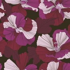 Cotton Rose 2 #patternbank #newonpatternbank IG: @petroulatsipitori