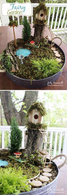 23 DIY Fairy Garden