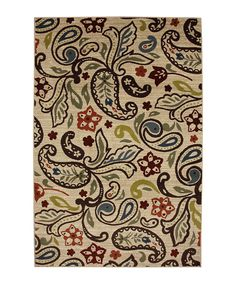 Retro Paisley Area Rug by  Mohawk Home