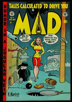 Harvey Kurtzman - Mad Covers