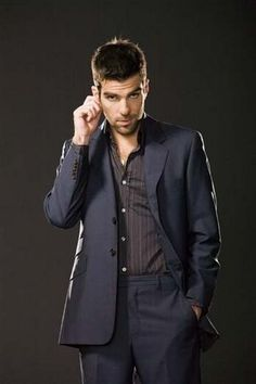 Zachary Qunito. I keep bouncing back and forth between him being Sylar and Spock...