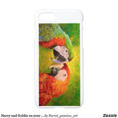 Harry and Goldie on your phone case