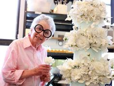 Vanilla Cake: Learn How To Bake a Cake Like Sylvia Weinstock | StyleCaster Use this one with the gluten-free flour