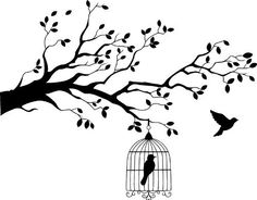 Birdcage in Tree Size Small Wall Art Decal Sticker Home Decor (black) by Monster Graphixx, http://www.amazon.com/dp/B00AB2E1XE/ref=cm_sw_r_pi_dp_IKv-rb133M9GE