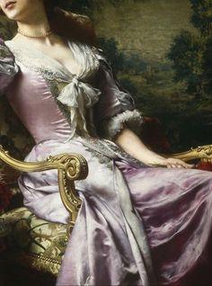 Dama w liliowej sukni (1903), Władysław Czachórski