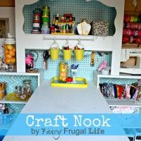 Craft Room TOUR with Lina from Fancy Frugal Life