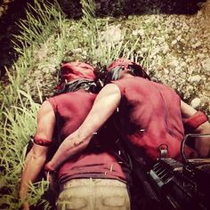 Farcry_3 crossed with Brokeback Mountain