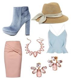 """Southern Belle"" by melissa-tina-brownell on Polyvore featuring River Island, WtR, Eugenia Kim, Charlotte Russe, Marchesa and Thalia Sodi"
