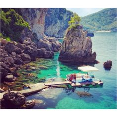 #traveldreamery - La Grotta cove, Corfu - Greece here I come!