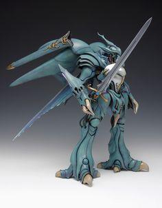 ヴェルビン Super Robot Taisen, Art Model, Sci Fi Fantasy, Gundam, Character Design, Creatures, Animation, Statue, Retro