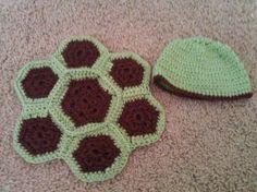 sea turtle themed baby shower | crochet newborn turtle set *PIC* - CafeMom