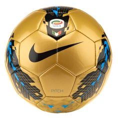 Nike League Pitch Serie A Soccer Ball  This Ball is as Good as Gold lol wow thats corny