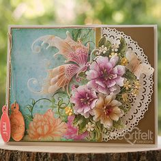 Heartfelt Creations exists to dynamically inspire, uplift, and add value to papercrafters. Handmade Greetings, Greeting Cards Handmade, Flower Cards, Paper Flowers, Vellum Crafts, Heartfelt Creations Cards, Crackle Painting, Hello Spring, Paper Cards