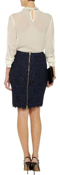 ef473955f38f Diane von Furstenberg Black Scotia Skirt Size 2 (XS, 26) 84% off retail