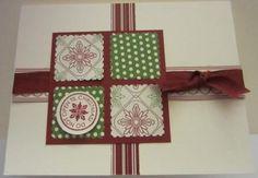 Easy DIY Christmas Card