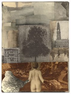 """Collage by James Michael Starr. From the series """"Fourteen Days"""": on love"""