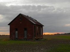 Abandoned School house built in the early 1900s