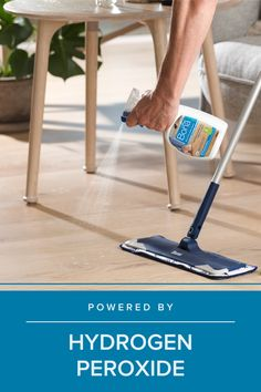 Our deep cleaners are powered by hydrogen peroxide to safely and effectively loosen and lift dirt build-up, providing a deep clean for your hardwood floors without the extra effort. For best results, use with our Bona PowerPlus® Hardwood Floor Deep Cleaning Pad.