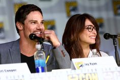 Comic-Con  2013 : Kristin Kreuk and Jay Ryan attended the Beauty and the Beast panel for Comic-Con.