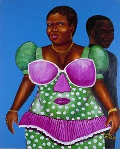 Untitled by Moke - Contemporary African Art Collection African Paintings, African Artists, Contemporary African Art, Beauty In Art, Black Art, Artwork, Collection, Africans, Work Of Art