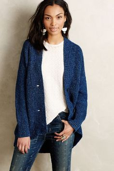 Indigofera Cardigan - anthropologie.com #anthroregistry