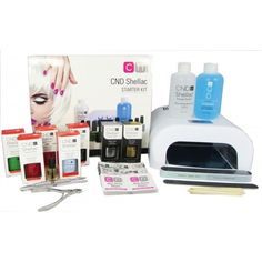 This DELUXE Professional CND Shellac Starter Polish Kit includes amazing items Shellac Nail Kit, Uv Gel Nails, Xmas Wishes, Birthday Wishes, Classy Nails, Beauty Hacks, Beauty Tips, Uv Led, Salons