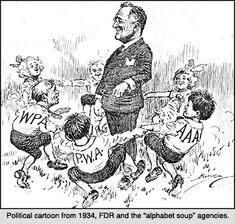 Great Depression Political Cartoons
